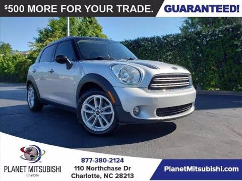 2016 MINI Countryman for sale at Planet Automotive Group in Charlotte NC