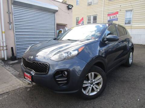 2017 Kia Sportage for sale at Dina Auto Sales in Paterson NJ