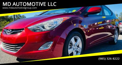2013 Hyundai Elantra for sale at MD AUTOMOTIVE LLC in Slidell LA