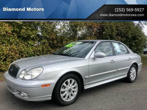 2004 Hyundai Sonata for sale at Diamond Motors in Lakewood WA