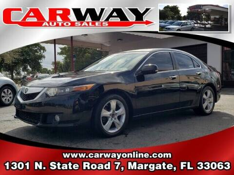 2010 Acura TSX for sale at CARWAY Auto Sales in Margate FL