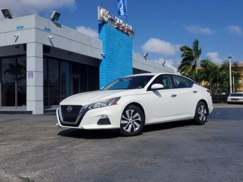 2020 Nissan Altima for sale at Tech Auto Sales in Hialeah FL