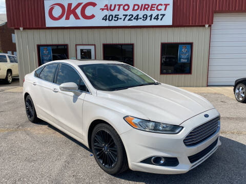 2014 Ford Fusion for sale at OKC Auto Direct, LLC in Oklahoma City OK