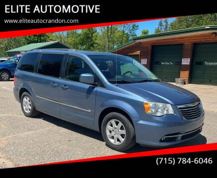 2012 Chrysler Town and Country for sale at ELITE AUTOMOTIVE in Crandon WI
