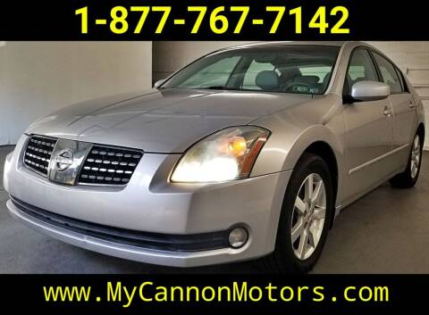 2004 Nissan Maxima for sale at Cannon Motors in Silverdale PA