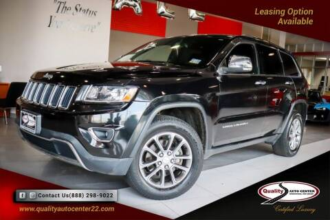 2014 Jeep Grand Cherokee for sale at Quality Auto Center in Springfield NJ