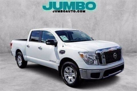 2017 Nissan Titan for sale at JumboAutoGroup.com in Hollywood FL