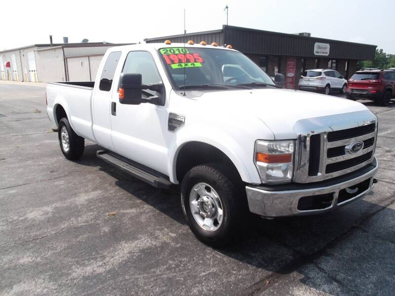 2010 Ford F-250 Super Duty for sale at Dietsch Sales & Svc Inc in Edgerton OH
