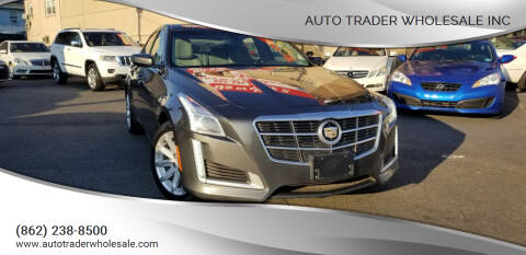 2014 Cadillac CTS for sale at Auto Trader Wholesale Inc in Saddle Brook NJ