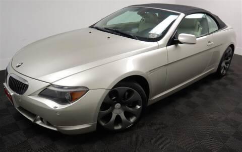 2006 BMW 6 Series for sale at CarNova in Stafford VA