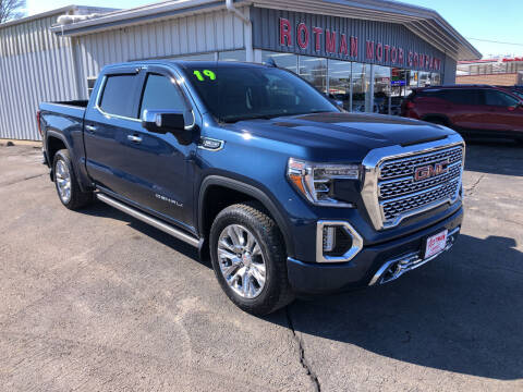 2019 GMC Sierra 1500 for sale at ROTMAN MOTOR CO in Maquoketa IA
