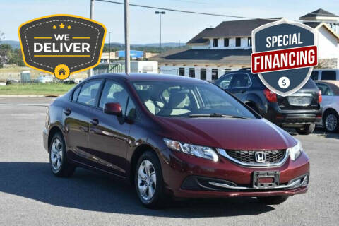 2013 Honda Civic for sale at Broadway Motor Car Inc. in Rensselaer NY