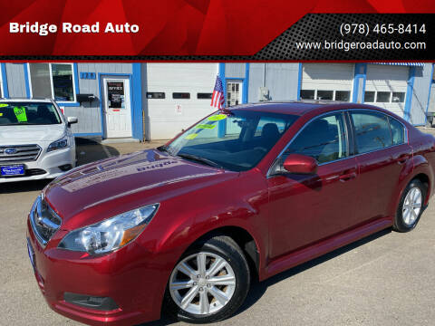 2012 Subaru Legacy for sale at Bridge Road Auto in Salisbury MA