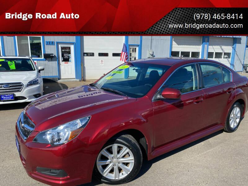 2012 Subaru Legacy for sale at Bridge Road Auto in Salisbury MA