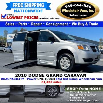 2010 Dodge Grand Caravan for sale at Wheelchair Vans Inc - New and Used in Laguna Hills CA