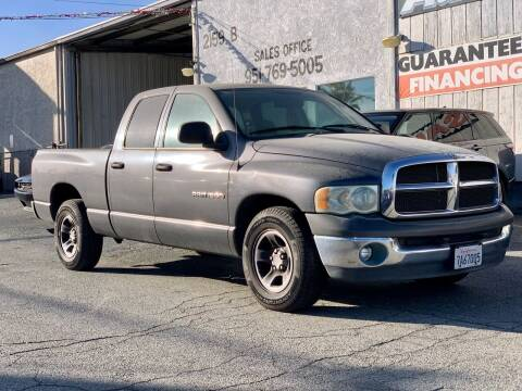 2003 Dodge Ram Pickup 1500 for sale at Auto Source in Banning CA