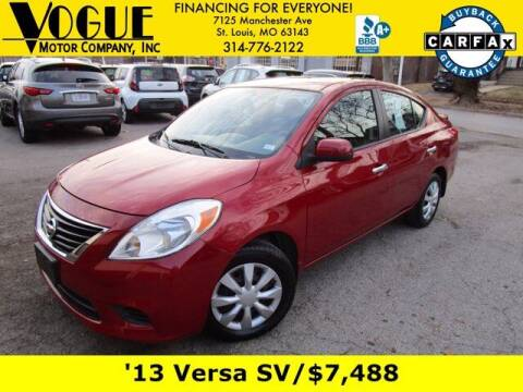 2013 Nissan Versa for sale at Vogue Motor Company Inc in Saint Louis MO