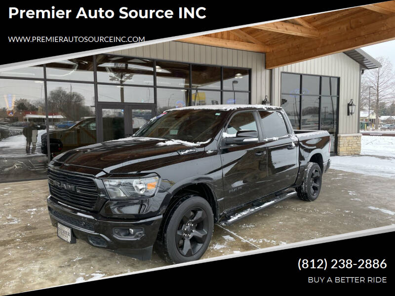 2019 RAM Ram Pickup 1500 for sale at Premier Auto Source INC in Terre Haute IN
