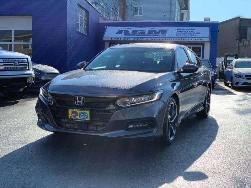 2018 Honda Accord for sale at AGM AUTO SALES in Malden MA