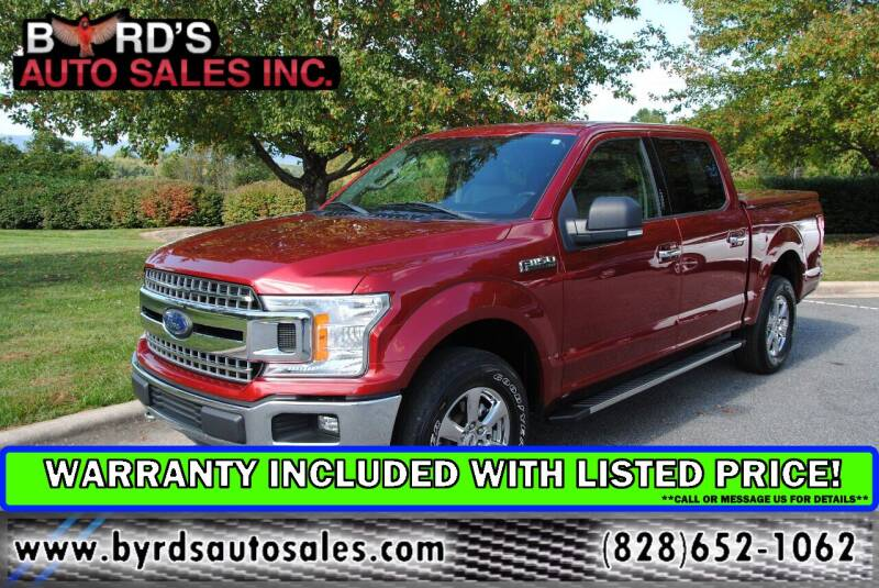 2018 Ford F-150 for sale at Byrds Auto Sales in Marion NC
