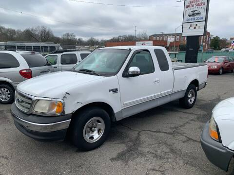 2000 Ford F-150 for sale at LINDER'S AUTO SALES in Gastonia NC