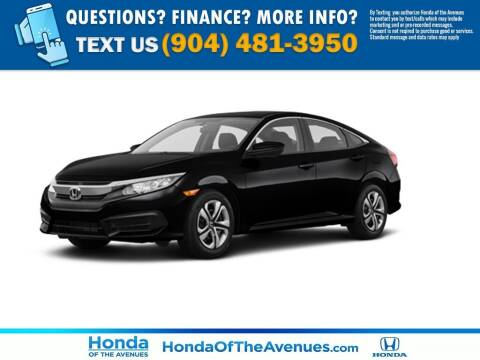2018 Honda Civic for sale at Honda of The Avenues in Jacksonville FL