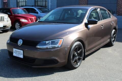 2011 Volkswagen Jetta for sale at Grasso's Auto Sales in Providence RI