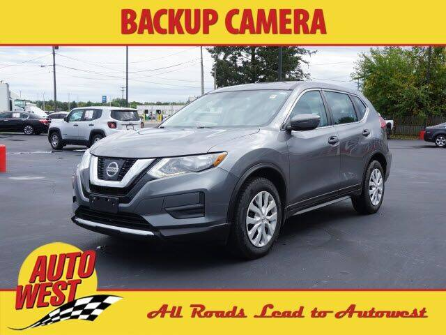 2017 Nissan Rogue for sale at Autowest of Plainwell in Plainwell MI