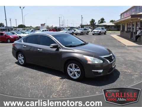 2015 Nissan Altima for sale at Carlisle Motors in Lubbock TX
