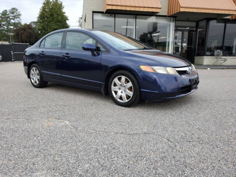 2008 Honda Civic for sale at Ron's Used Cars in Sumter SC