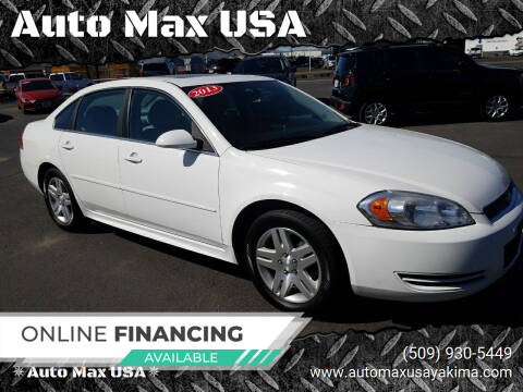 2013 Chevrolet Impala for sale at Auto Max USA in Yakima WA