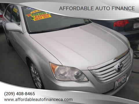 2009 Toyota Avalon for sale at Affordable Auto Finance in Modesto CA