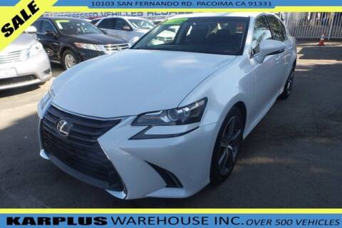 2016 Lexus GS 200t for sale at Karplus Warehouse in Pacoima CA