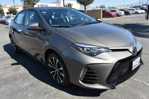 2019 Toyota Corolla for sale at DIAMOND VALLEY HONDA in Hemet CA
