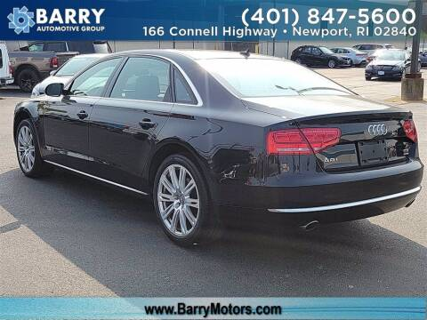 2014 Audi A8 L for sale at BARRYS Auto Group Inc in Newport RI