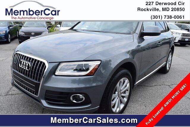 2013 Audi Q5 for sale at MemberCar in Rockville MD