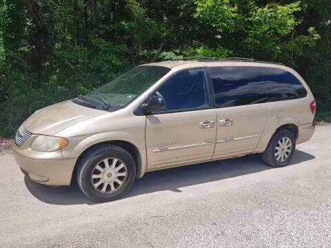 2001 Chrysler Town and Country for sale at Doyle's Auto Sales and Service in North Vernon IN