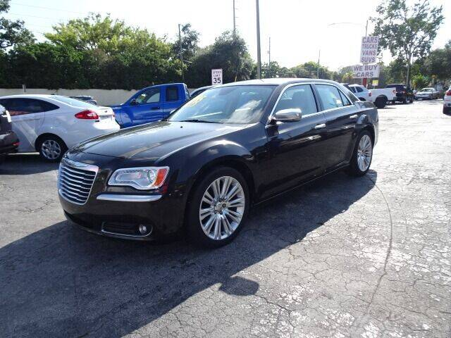 2012 Chrysler 300 for sale at DONNY MILLS AUTO SALES in Largo FL