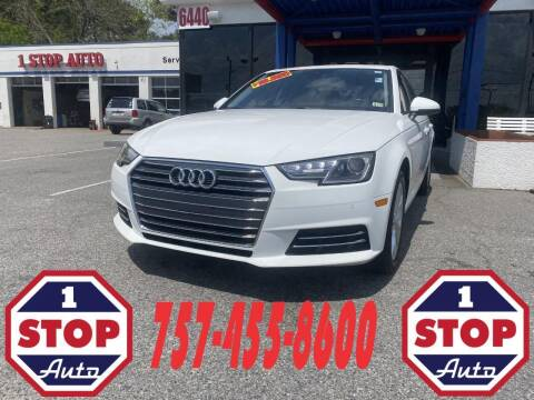 2017 Audi A4 for sale at 1 Stop Auto in Norfolk VA