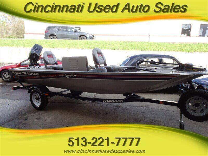 2013 Tracker Panfish 16' Aluminum for sale at Cincinnati Used Auto Sales in Cincinnati OH