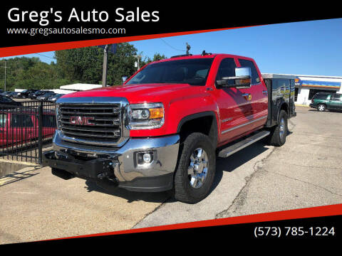 2017 GMC Sierra 2500HD for sale at Greg's Auto Sales in Poplar Bluff MO