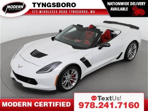 2016 Chevrolet Corvette for sale at Modern Auto Sales in Tyngsboro MA