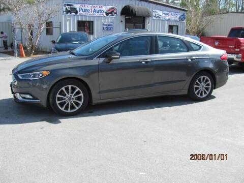 2017 Ford Fusion for sale at Pure 1 Auto in New Bern NC