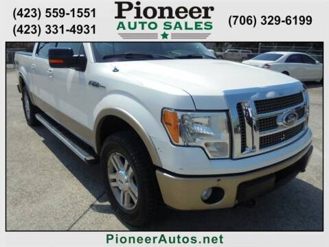 2011 Ford F-150 for sale at PIONEER AUTO SALES LLC in Cleveland TN