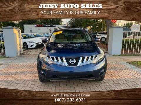 2010 Nissan Murano for sale at JEISY AUTO SALES in Orlando FL