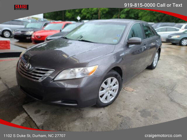 2007 Toyota Camry Hybrid for sale at CRAIGE MOTOR CO in Durham NC