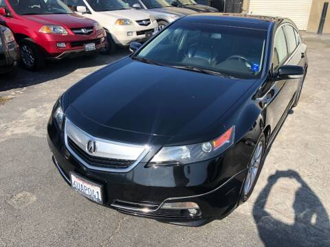 2012 Acura TL for sale at 101 Auto Sales in Sacramento CA