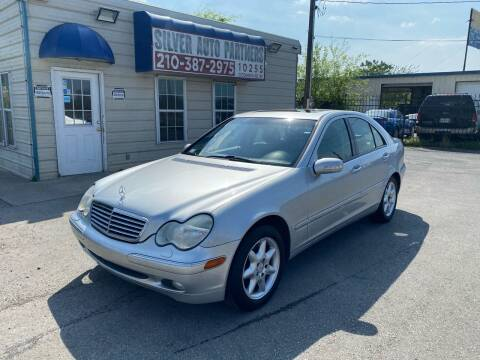 2002 Mercedes-Benz C-Class for sale at Silver Auto Partners in San Antonio TX