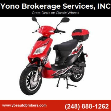 2020 Tao Tao Blade 50 for sale at Yono Brokerage Services, INC in Farmington MI