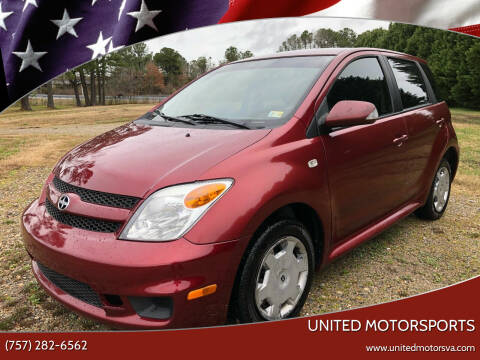 2006 Scion xA for sale at United Motorsports in Virginia Beach VA